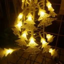 16ft Christmas Tree String Lights 50 LED Hanging String Lights in Warm/White/Multi Color