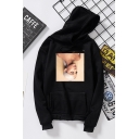 Album Sweetener Figure Printed Long Sleeve Casual Loose Hoodie