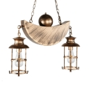 Antique Lantern Island Pendant Lights with 31.5