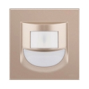 Wireless Motion Activated Step Light Pack of 1/4 Easy-to-Install Wall Lighting in Warm/White