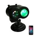 4 Color Ocean Wave Christmas Projector Lights 1 Wireless Pack Waterproof Landscape Lights
