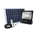 LED Solar Ground Lights Dusk to Dawn Sensor and Remote Control Well Lights for Front Door