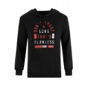 DON'T TRUST A SONG THAT'S FLAWLESS Fashion Letter Printed Fitted Hoodie