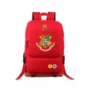Popular Harry Potter University Badge Printed Outdoor Leisure Sports Unisex Backpack 30*15*45cm