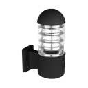 1-LED Wall Lighting for Garden Step Wireless Waterproof Security Lamp in White/Warm