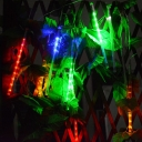 80/144/240 LED Hanging String Lights 1/2ft Waterproof Fairy String Lights in White/Blue/Multi Color