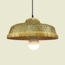 Hand Knitted Pendant Lighting with 39