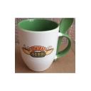 Creative New Stylish CENTRAL PEPK Letter Coffee Ceramic Mug Cup