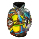 Fashion Graffiti Oil Painting 3D Printed Unisex Loose Fit Hoodie