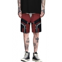 New Stylish Deadpool 3D Printed Drawstring Waist Outdoor Loose Athletic Shorts for Men