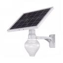 Peach/Apple Shape LED Solar Lights 18 LED Dusk To Dawn Sensor Security Lights for Yard