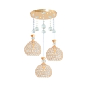 Globe Pendant Light for Bedroom with 39