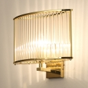 Metal Drum Sconce Light 1 Light Traditional Wall Lamp in Silver/Brushed Brass/Bright Gold
