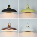 Vintage Pendant Light with 12.6''W Warehouse Metal Shade