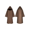 Star Wars Jedi Halloween Cosplay Costume Long Sleeve Cape Cloak Coat
