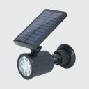 Solar Motion Sensor Light Outdoor Waterproof 5 W 8-LED Dusk To Dawn Sensor Spotlight for Front Door
