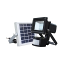 9 LED Solar Light Waterproof Security Wall Light with Motion Sensor and Dusk to Dawn Sensor