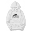 Stranger Things Letter IN A WORLD FULL OF TENS BE AN ELEVEN Print Long Sleeve Casual Hoodie