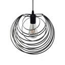Orb Shape Kitchen Ceiling Light Fixture Length Adjustable Metal Single Light Vintage Pendant Light