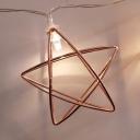 1 Pack Star Fairy Lights 5/10/15ft 10/20/30 LED Novelty String Lights for Garden Balcony