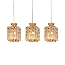 Kitchen Pendant Lights Crystal with 35.5