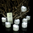 Remote Timer Fake Candles 12 Pack Novelty Always on Mode LED Tea lights in White/Warm/Neutral