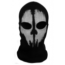 Black Ghost Commander Skull Balaclavas Costume Full Face Mask
