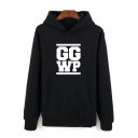 League of Legends S5 Team Costume Letter GGWP Printed Long Sleeve Regular-Fit Unisex Sport Hoodie