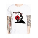 Fashion 3D Comic Anime Figure Printed Short Sleeve Casual T-Shirt