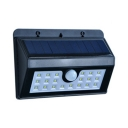 20 LED Solar Wall Light with Motion Sensor 1/2/4 Pack Waterproof Security lighting in Black for Pathway