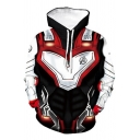 Cosplay Costume Relaxed Fit Drawstring Hoodie