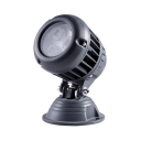 Round Metal Security Lamp 1 Pack Wireless Waterproof LED Spotlight for Driveway Patio