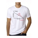 New Trendy Funny Letter I FIND X Basic Short Sleeve Cotton Casual T-Shirt
