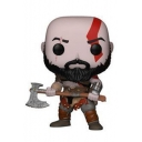 God of War 3 Kratos Figure Model Toy Statue Figurine 10cm