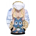 Fairy Tail New Trendy Comic Character 3D Print Long Sleeve Unisex Casual Drawstring Hoodie