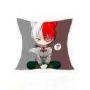 My Hero Academia Cool 3D Comic Character Printed Cushion Pillowcase Pillowslip 40*40