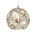 Modern Pendant Light Globe with 31.5