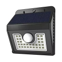 1/2/4-Pack Solar Lights Dusk to Dawn Sensor Waterproof 30 LED Wall Lighting with Motion Sensor