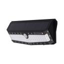 57/79 LED Solar Light Radar Sensor and Remote Control Security Light in Black/White for Front Door
