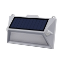 1/2/4-Pack Solar Powered Lights Pathway 18 LED Motion Activated Deck Lights in White