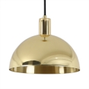 Shallow Round Pendant Lighting with 10