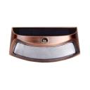 1/2/4 Pack Motion Sensor Solar Light Dusk to Dawn Auto On/Off Waterproof Wall Lights in Copper/Black