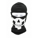 New Popular Call of Duty Skull Print Halloween Cosplay Scarf Neck Outdoor Black Face Mask