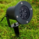 Pack of 1 Party Projection Lights with 12 Slides Patterns Waterproof Landscape Lights for Party