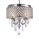 Contemporary Drum Pendant Lighting with 53