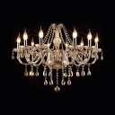 Contemporary Candle Chandelier with 19.5