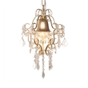Clear Crystal Pendant Lighting with 12