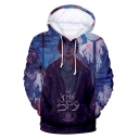 Stranger Things 3D Figure Letter THE SPY Printed Long Sleeve Sport Casual Pullover Hoodie