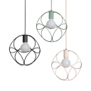 Industrial Round Hanging Lamp with 39