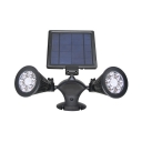 Waterproof Solar Security Light with Motion Sensor 12 LED Wall Light in Warm White for Outdoor